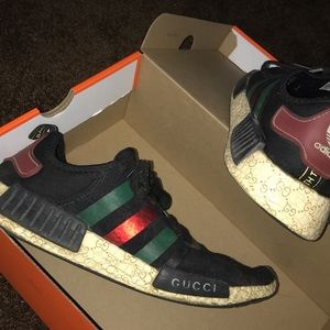 Custom Gucci x Adidas shoes